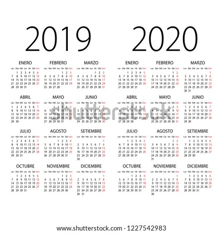 abstract 2019 and 2020 spanish