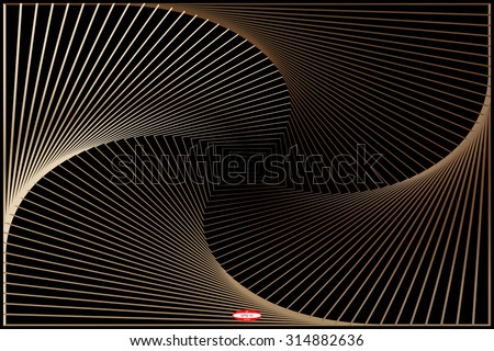 stock-vector-abstract-angular-dark-bronze-pattern-with-curve-rust-texture-with-cream-stairs-with-burnt-line-on