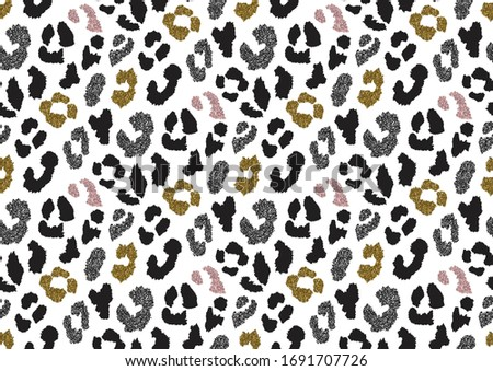 abstract animal skin leopard