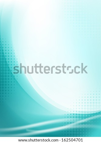 abstract aqua flowing background