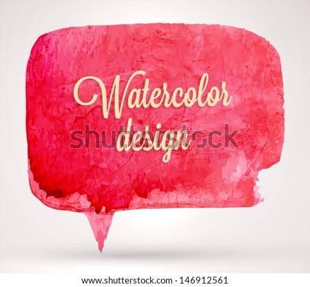 abstract aquarelle background