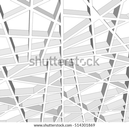 abstract architectural design #514301869