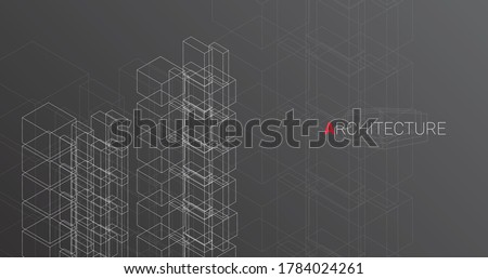 abstract architectural drawing