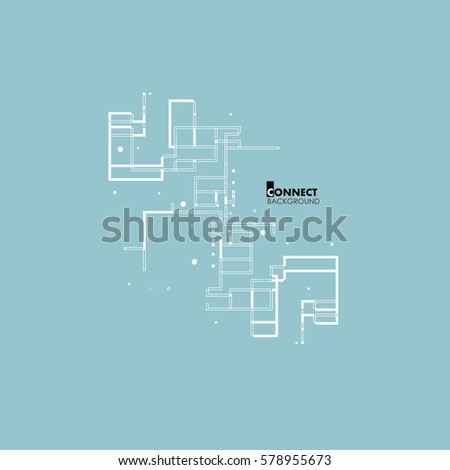 abstract architectural plan