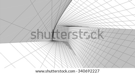 abstract architecture background #340692227