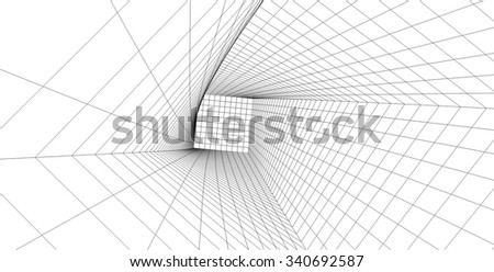 abstract architecture background #340692587