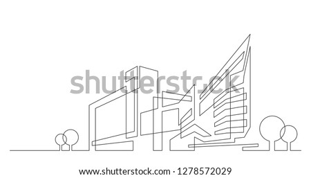 abstract architecture city