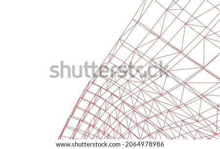 abstract architecture construction vector illustration