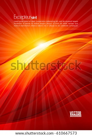 abstract ardent background red