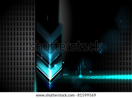 Abstract Arrows Vector Illustration Background