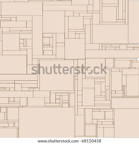 Abstract art design decor background vector illustration