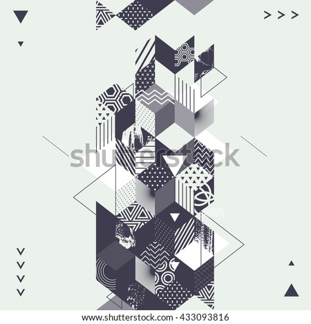 abstract art geometric