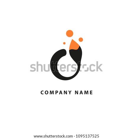 abstract art logo icon vector