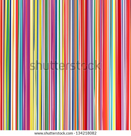 abstract art rainbow curved