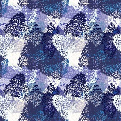 Abstract art seamless pattern. Camouflage background texture. Paint spots. Distressed, grunge print