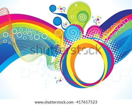 rainbow illustration wallpaper 1920x1080 - photo #6