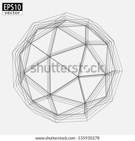 Abstract Atom Design | EPS10 Vector