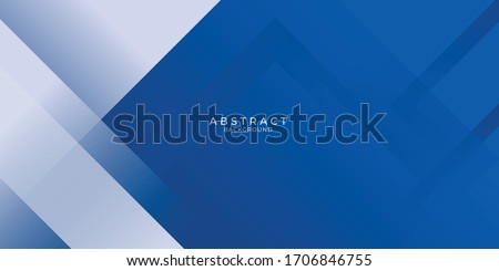 Abstract bacgkround blue and white gradient. Modern blue abstract rectangle box lines background for presentation design, banner, brocure, and business card
