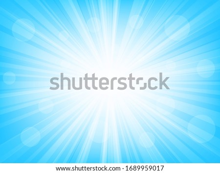 abstract backdrop blue radial