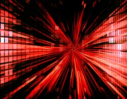 Abstract Backdrop Effect of red ray. Technology background for computer graphic website internet. vector illustration. digital. infographics. beam light