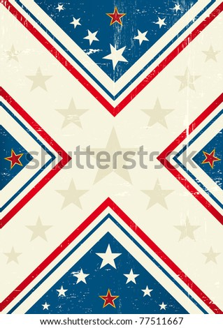 Abstract background. A background with a big cross and stars for you.