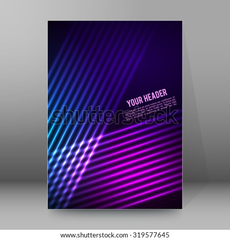 abstract background advertising
