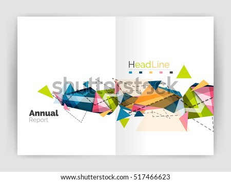 abstract background annual