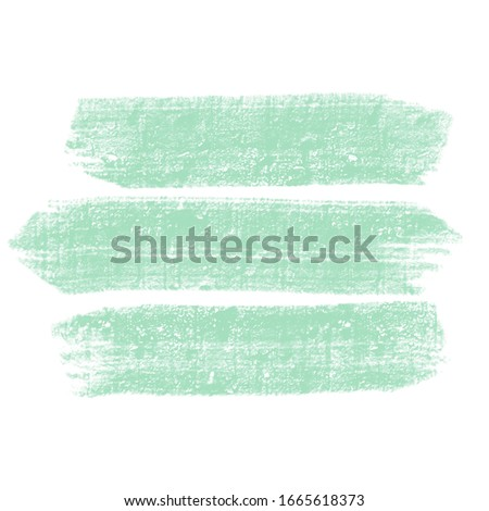 Abstract background. Aqua menthe paint strokes. Website, blog, presentation or advertising background in trendy aqua menthe color. Vector Stock photo ©