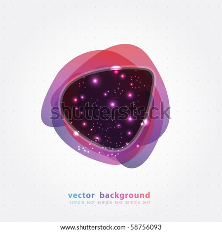 Abstract Background Banner. Vector