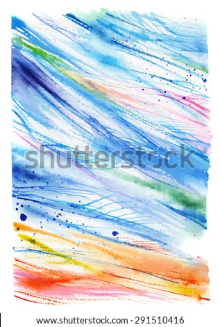 abstract background beach  wind
