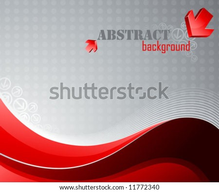 Abstract background. Beautiful vector illustration. - stock vector