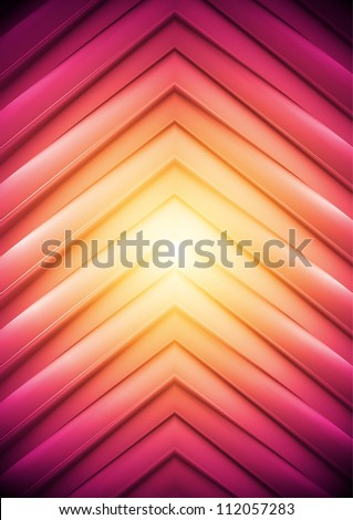 Abstract background, big arrows. Vector illustration eps 10