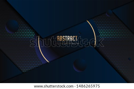 abstract background blue and black color. modern minimal Eps 10