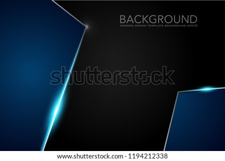 abstract background blue bokeh. texture, blue blurry background , Abstract geometric hexagons shape medicine and science concept background