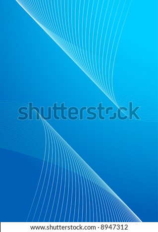 Abstract background blue vector illustration.