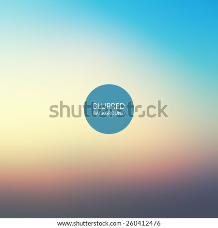 Abstract Background - Blurred Image - Sunset in Chicago