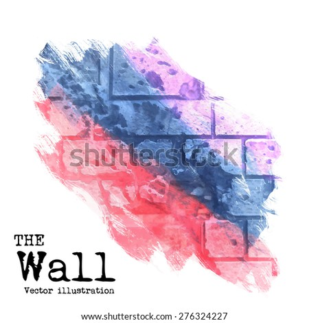 abstract background  brick wall