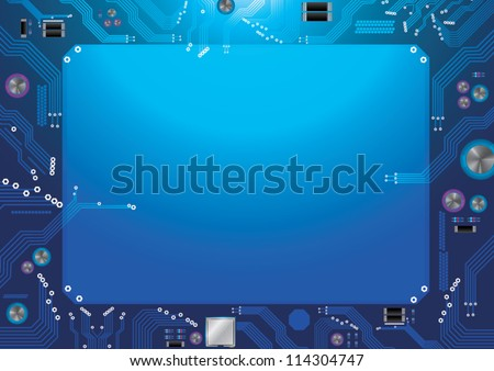 abstract background  circuit