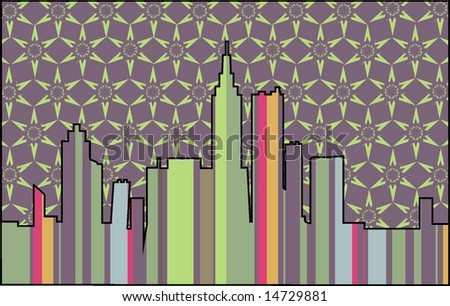 abstract background city 2