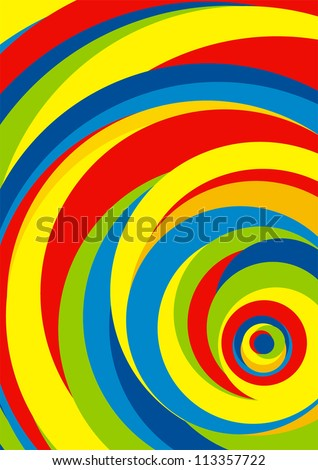 abstract background color stripes circle