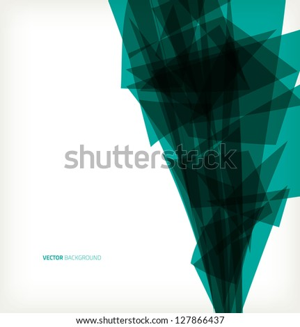 Abstract background corners