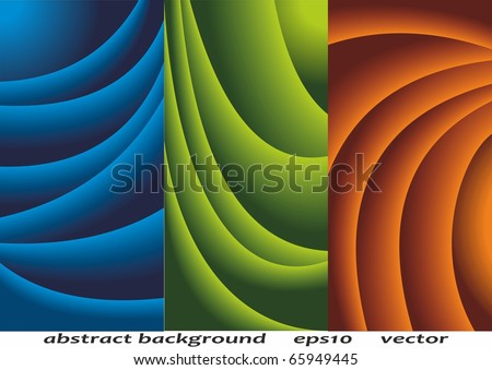Abstract background. Creases. Vector background for your design. - stock vector