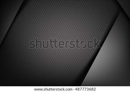 Abstract background dark and black carbon fiber vector illustration eps10