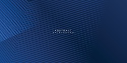 Abstract background dark blue with modern corporate concept. Vector illustration for modern keynote presentation background, brochure design, website slider, landing page, annual report