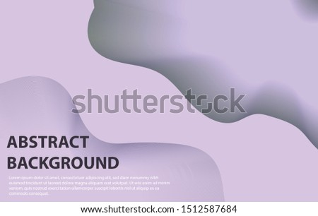 Abstract background design organic shapes, organic shapes vector illustration for banner, presentation, and invitation.