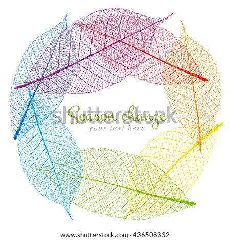 abstract background dry leaf