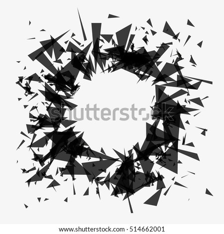 abstract background explosion