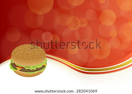 abstract background food