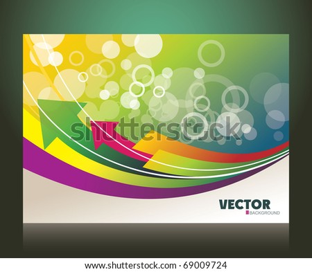 abstract background for design eps10