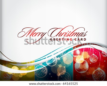 abstract background for new year and for Christmas colorful design for text project used.